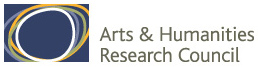 Arts and Humanities Research Council (AHRC) logo, links to AHRC home page